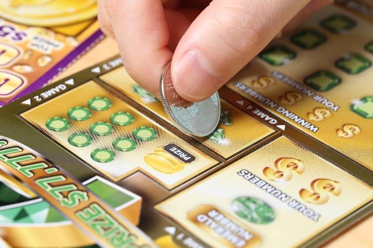 Sloan Stanley First Lottery Ticket Win