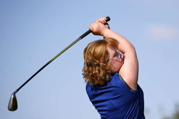 Golfer Amy Bockerstette