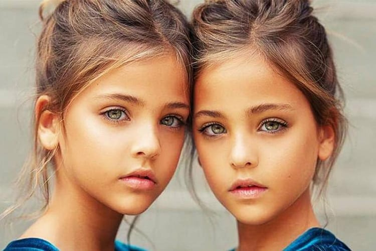 Beautiful Twins Instagram Models Children