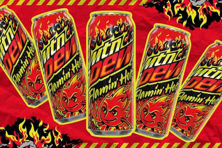 Flamin' Hot Mountain Dew