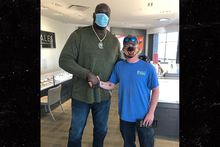 Shaq Pays Off Man's Engagement Ring