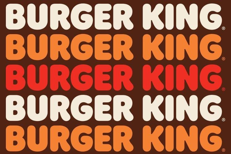 New Burger King Logo