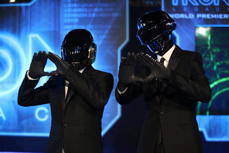 Daft Punk Streams Soar