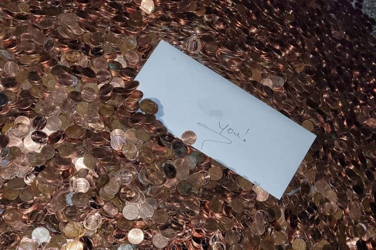 A OK Walker Autoworks Employee Paid In Oiled Pennies