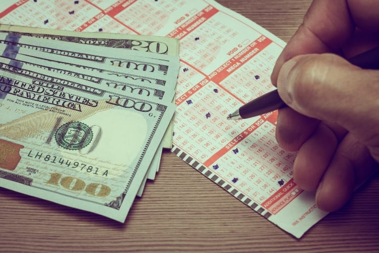 Man Throws Away Lottery Ticket