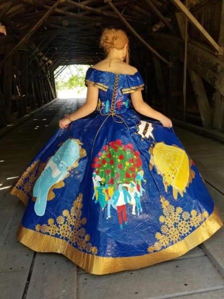 Peyton Manker 2020 Gown